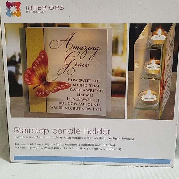 Interiors by Design Other - Stairstep Candle  Holder New Never Used